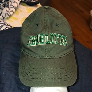 green Charlotte hat